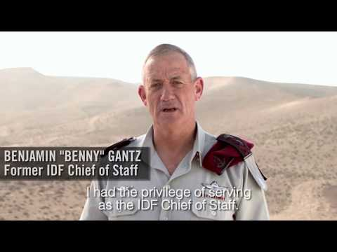 Lt. Gen. Benny Gantz Concludes 38 Years of Dedicated Service