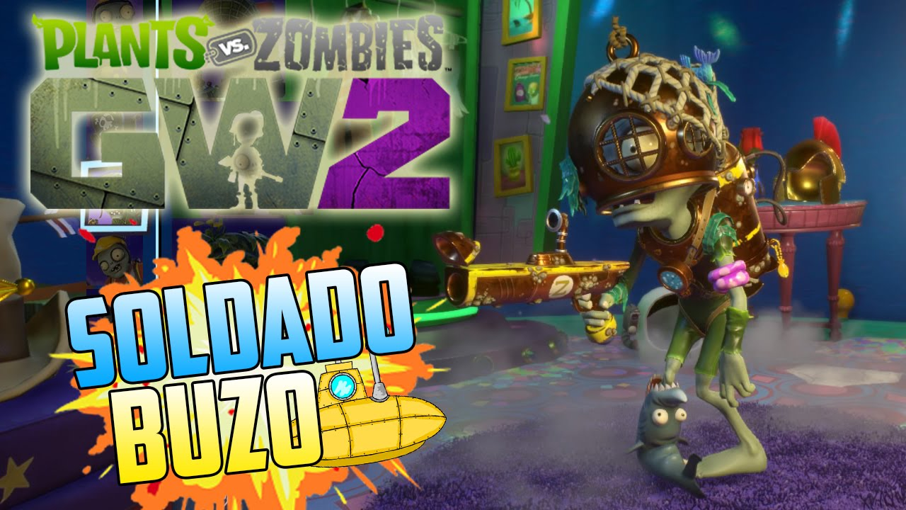 Soldado Buzo Gameplay Multiplayer Parte 02 Plants Vs Zombies Garden Warfare 2 Youtube
