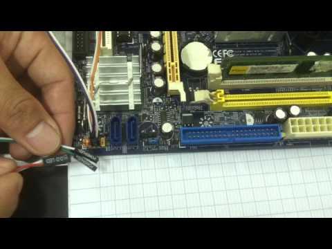 Kết Nối Dây Tín Hiệu Audio, USB Và Front Panel - Phần 2