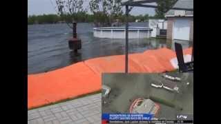 barrière inondation maison crue