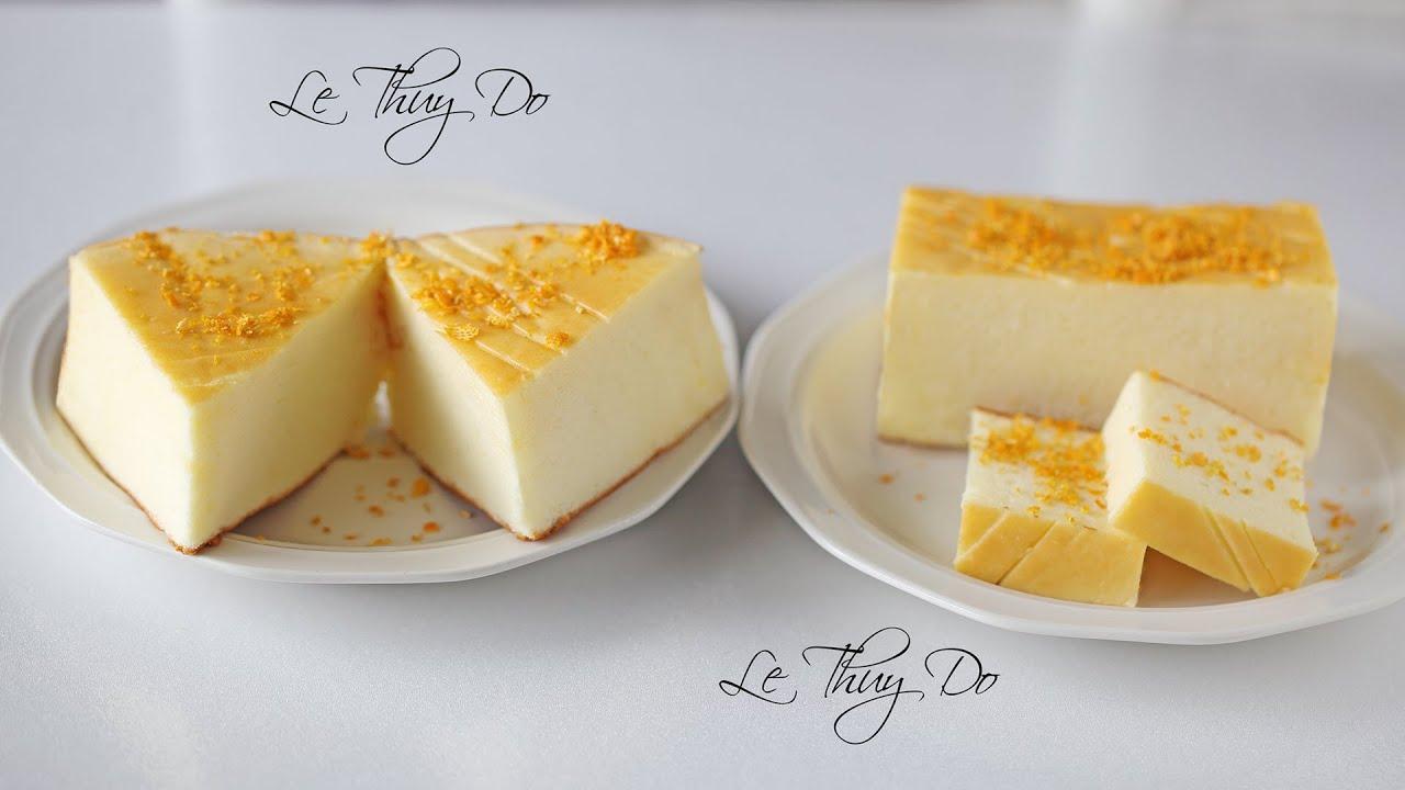 Greek Yogurt Cake – Bánh Bông Lan Sữa Chua
