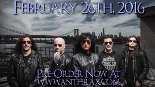 Anthrax 'For All Kings' released Feb 26th 2016 Pre order now at Ant...