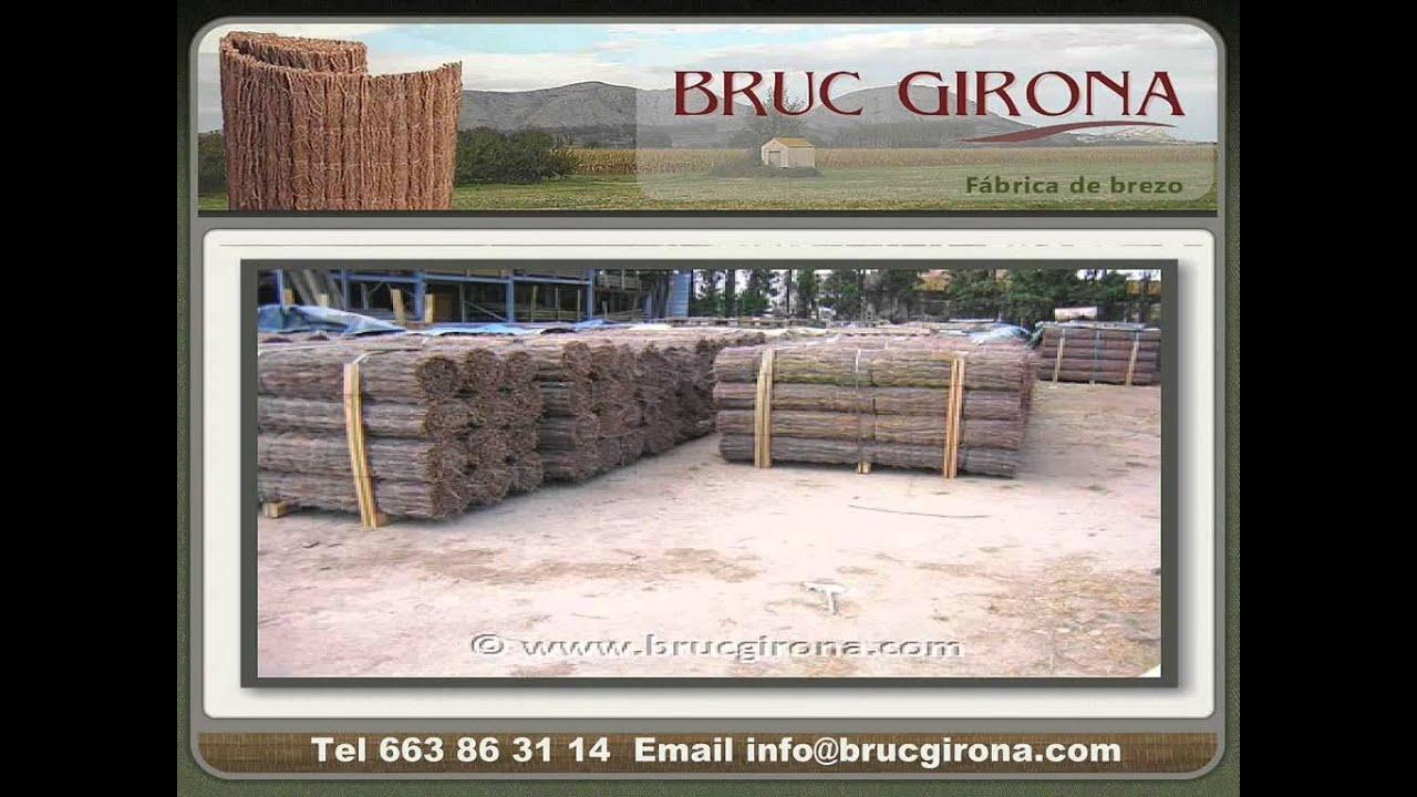 Bruc girona venta de brezo para vallas de jard n youtube - Precio brezo para vallas ...