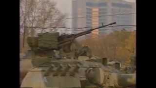 Штурм Белого дома, Хасбулатова и Руцкого выводят