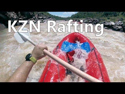 Tugela River white water rafting - KZN