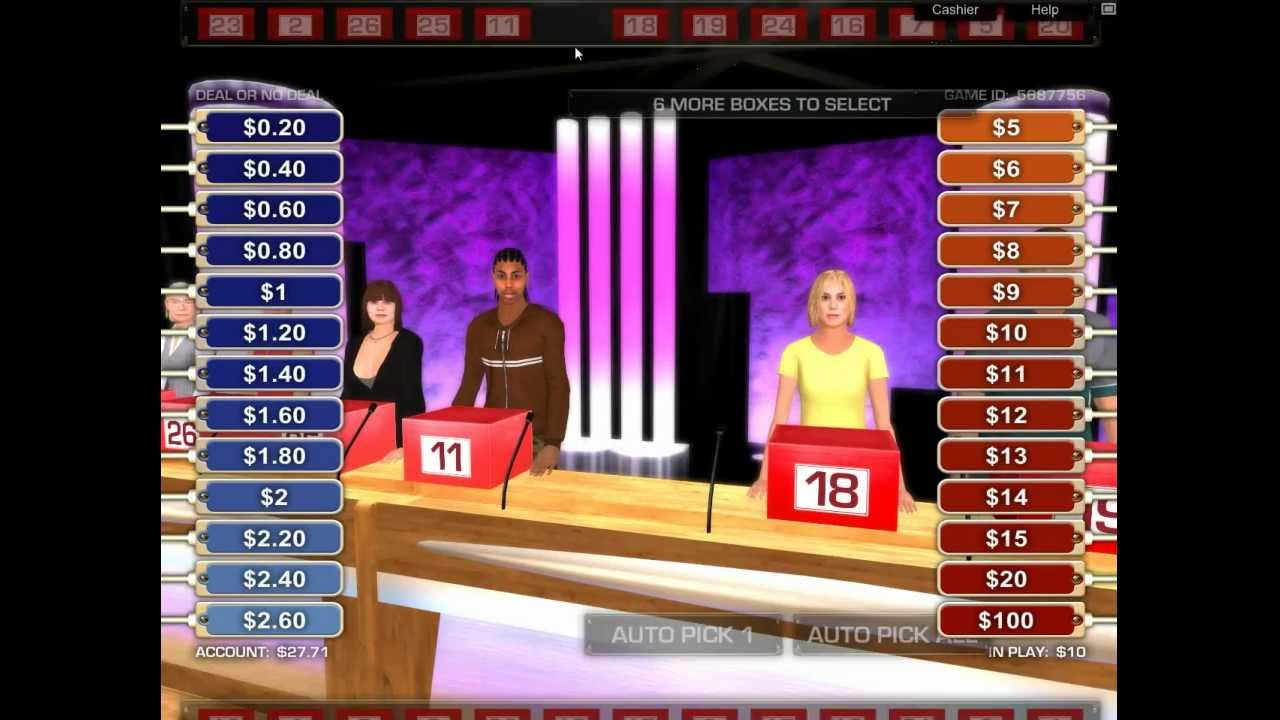 Deal Or No Deal Online For Real Money