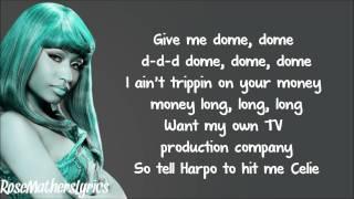 Gambar cover Nicki Minaj - Raining Men Verse Lyrics Video