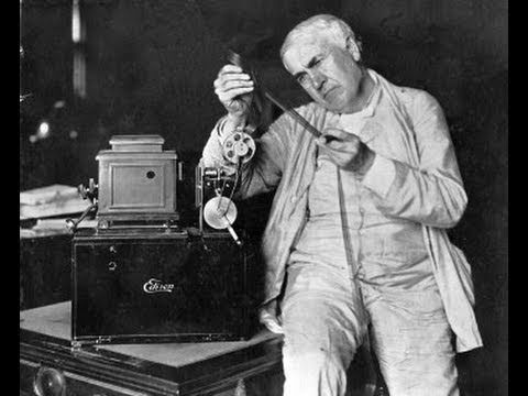 Image result for thomas alva edison projector