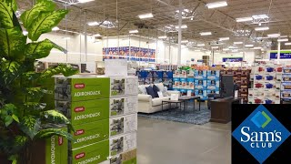 SAM'S CLUB NEW ITEMS GIFTS FURNITURE KITCHENWARE WINE BOOKS SHOP WITH ME SHOPPING STORE WALK THROUGH