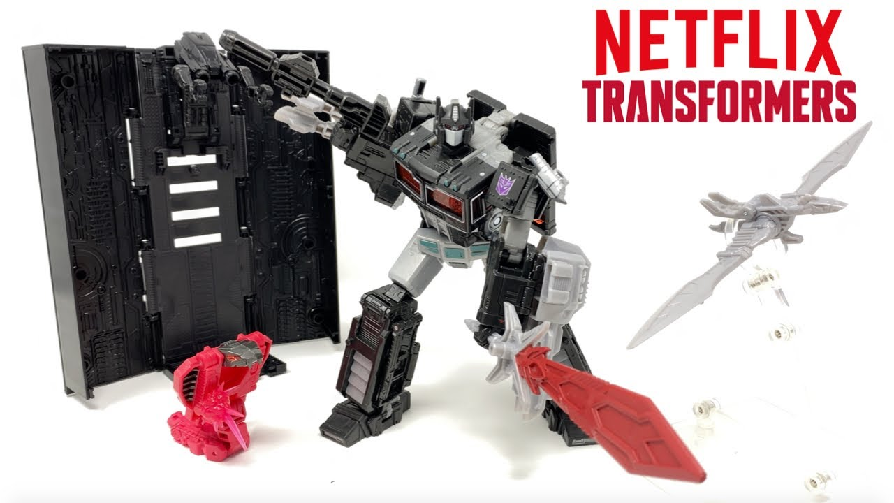 Download Transformers Netflix Spoiler Nemesis Prime Leader Pack Review