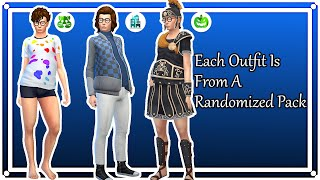 The Sims 4 Each Outfit Is From A Randomized Pack w/ Ed Polk