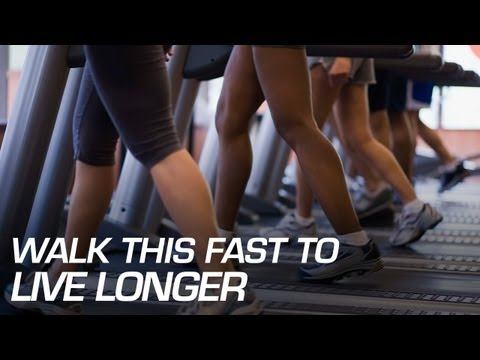 Walk This Fast to Live Longer