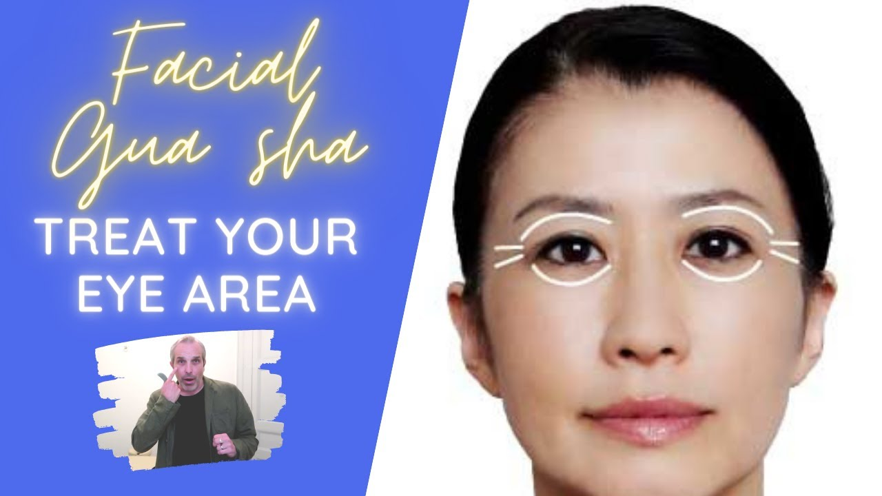 Don't miss my tips for Facial Gua sha around your eyes!