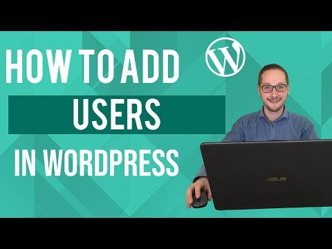 How to add users in Wordpress Tutorial thumbnail