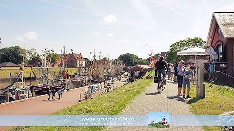 Ferienunterkünfte in Greetsiel - Promotion von Greetsiel24.de