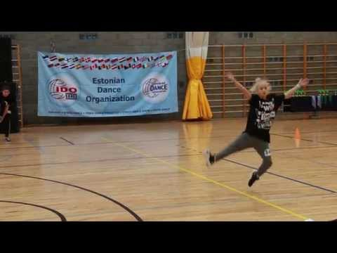 Hanna Paluoja / EDO SPRING CUP 2015 Hip Hop Solo / Junior female  final