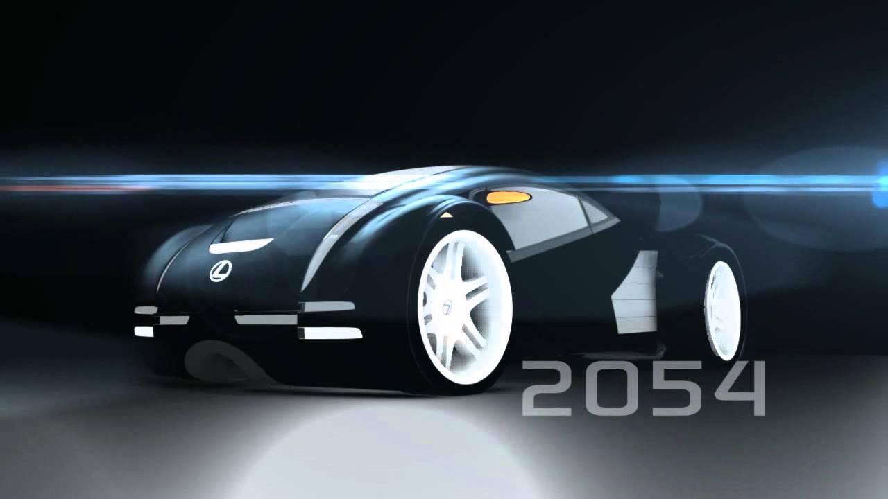 lexus 2054 concept car maya animation minority report youtube. Black Bedroom Furniture Sets. Home Design Ideas