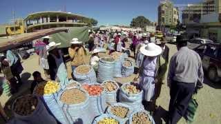 Marchés de Bolivie : les marchés de Cliza et Punata, Cochabamba