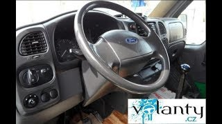 Démontage du volant Airbag Ford Transit 2000 - 2005