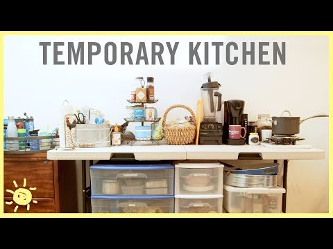 8 TIPS to Survive in a Temporary Kitchen