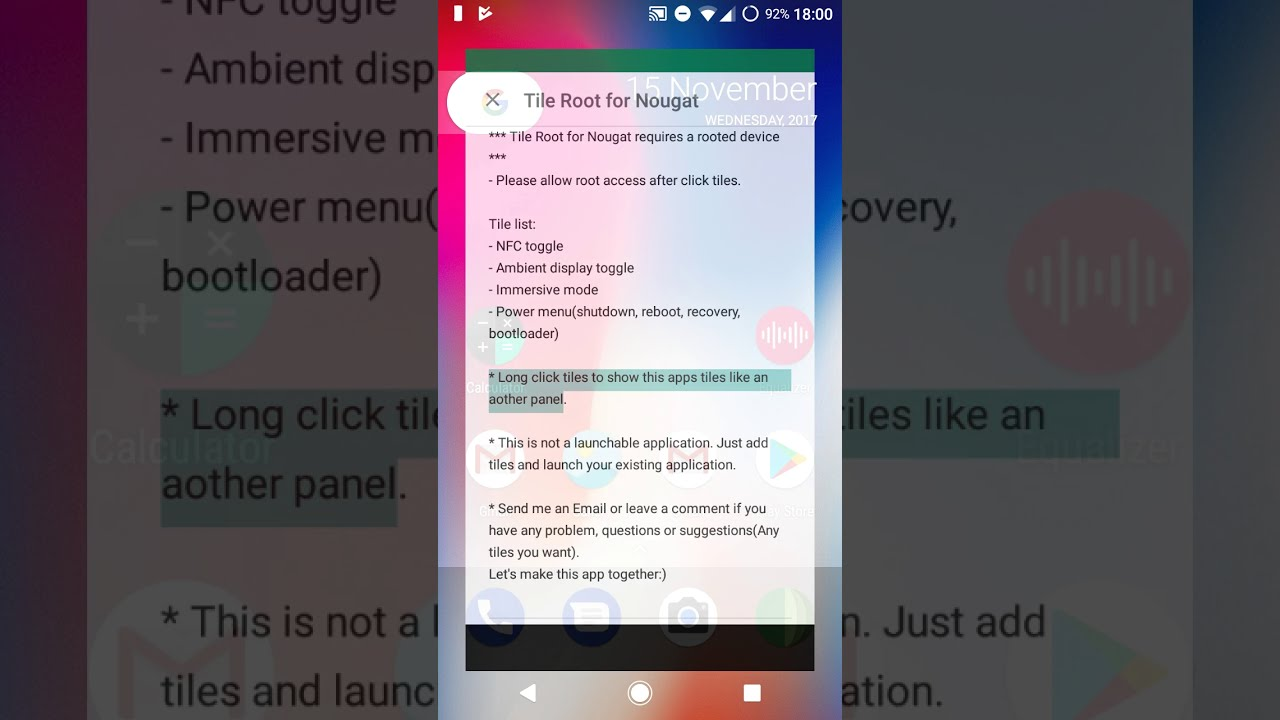 How to Hide & Make Navigation and Status Bar Transparent (Android N Nougat  7 0, 7 1 & Oreo 8 0