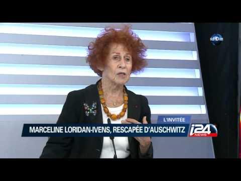 MARCELINE LORIDANIVENS, RESCAPÉE D'AUSCHWITZ