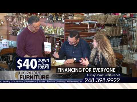 Luxury Home Furniture Financing