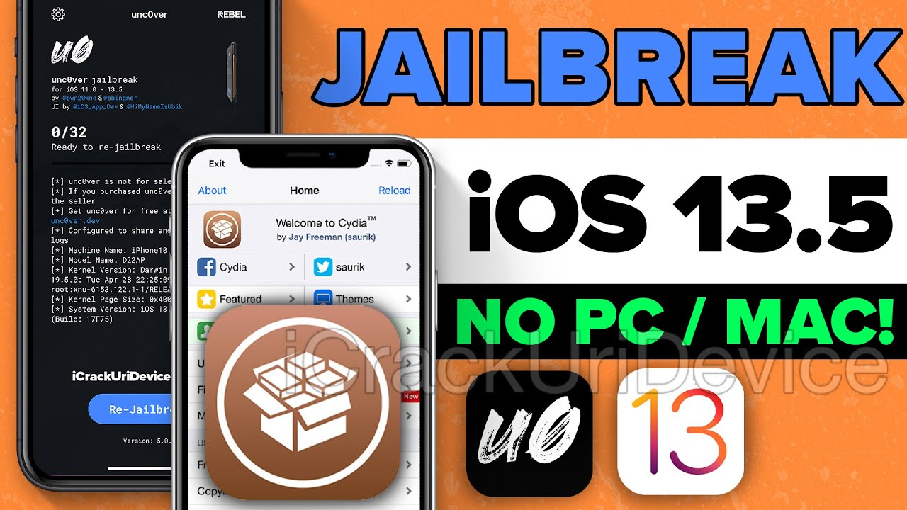 NEW Jailbreak iOS 13.5 NO Computer! How to Install REVOKED Unc0ver Jailbreak iOS 13! - YouTube