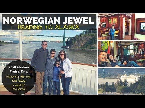2018 Alaskan Cruise Ep4 - The Norwegian Jewel- Travel Vlog