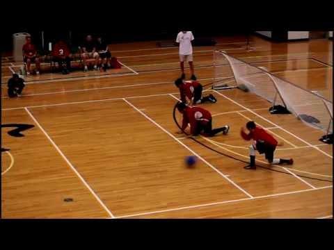 IBSA World Youth Goalball Championship 2015 - Canada vs Hungary 2nd Half
