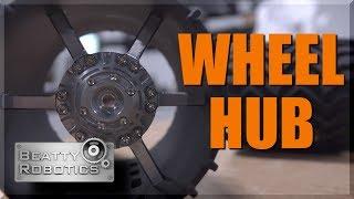 Turning & Machining MARS Wheel Hub | WW210