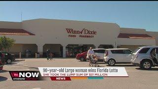 90-year-old Largo woman wins $43 Million jackpot in Florida Lotto
