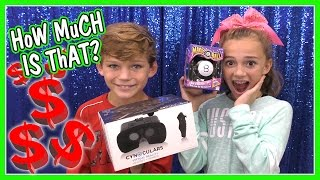 CAN YOU GUESS THE PRICE?   THE PRICE IS RIGHT CHALLENGE   We Are The Davises
