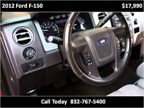 2012 Ford F 150 Used Cars Houston Tx Youtube