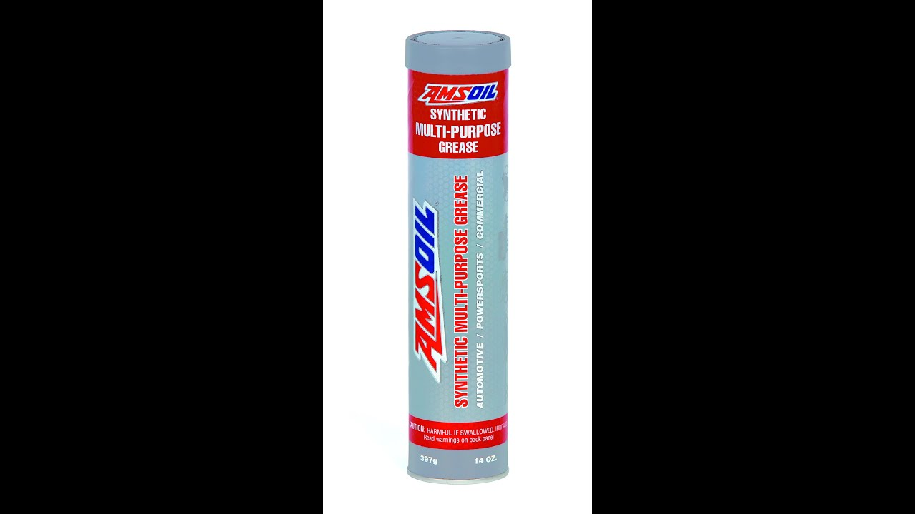 Amsoil glc synthetic multi purpose grease youtube for Grease for electric motors