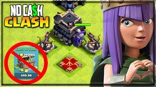 DONE! WE GOT TH9! 🔥Clash of Clans 🔥No Cash Clash!