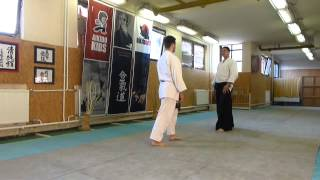 yokomen uchi soto kaitennage [AIKIDO]  basic technique