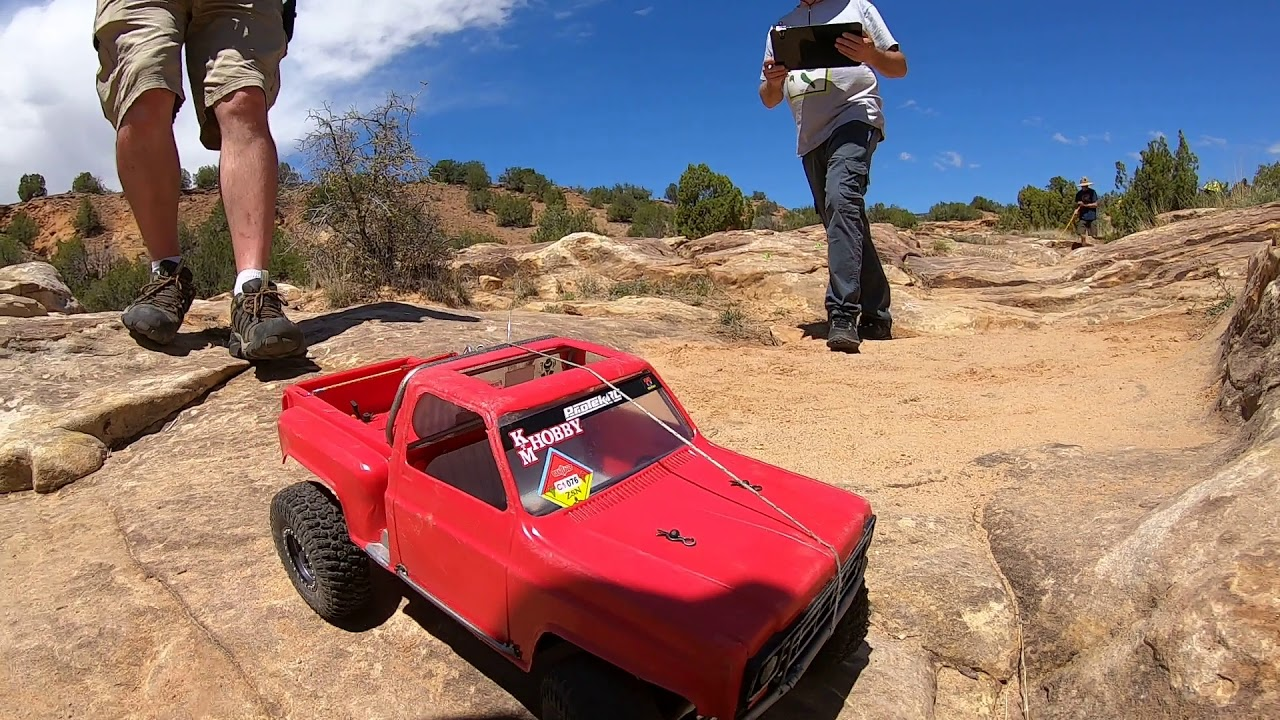 2019 RC4WD ZIA Scale Nationals Class 1 Course 4 run with ToyZuki