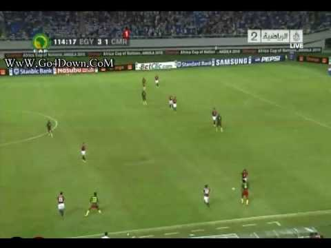 Egypt Vs Cameroon 3-1 In CAN African Cup  Angola 2010 Triangles