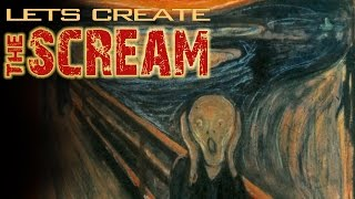 How to Draw The Scream: Watch|Create|Share