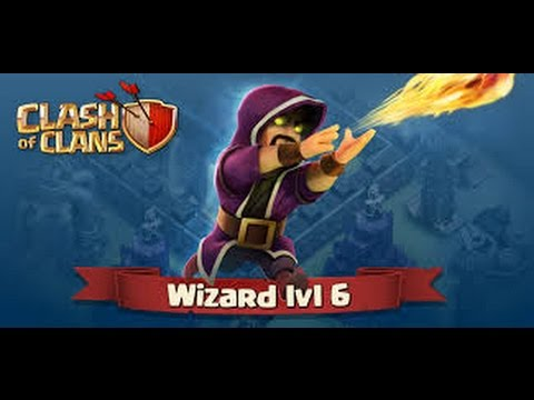 Clash Of Clans | 999 Max Level WiZarD | Attacks | 100% ...  Clash