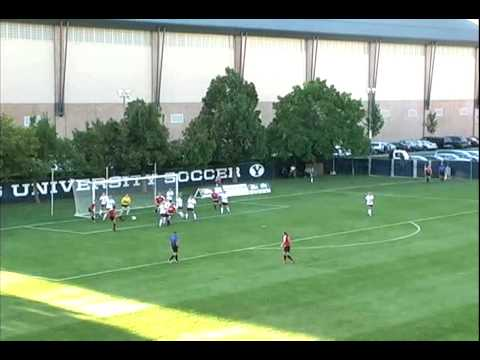 Megan Tomlinson Goal vs BYU 2008