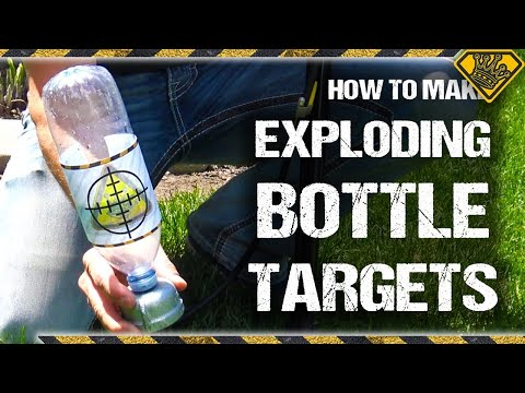 How To Make Exploding Targets (Bottle Blasters)