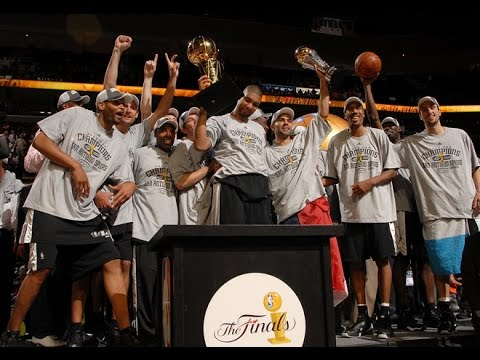 NBA Finals 2007 Game 4 Spurs @ Cavaliers Mini Movie