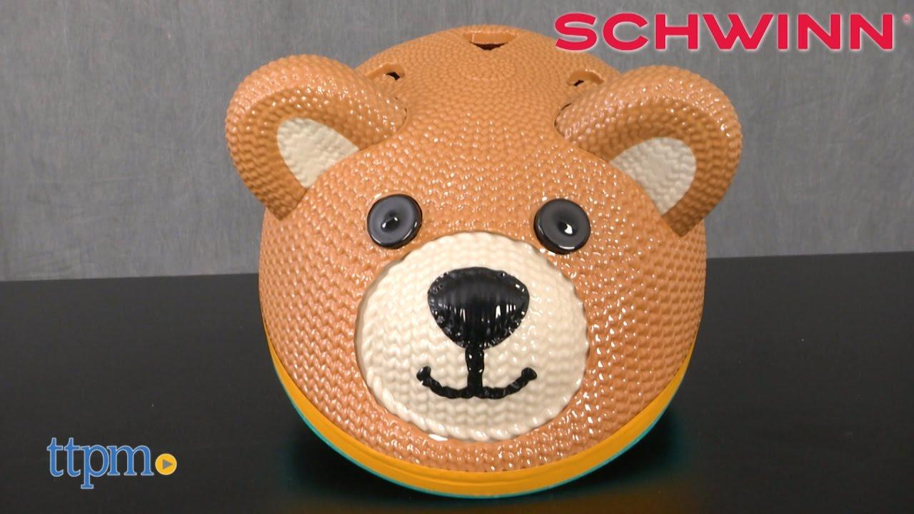 Schwinn Teddy Bear Bike Helmet from Pacific Cycle