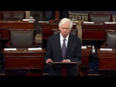 Sen. Cochran Speaks in Support of FY2017 Omnibus