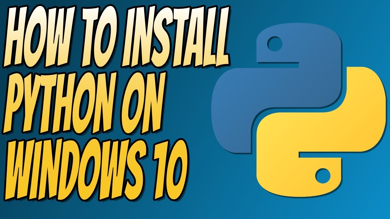 How to Download and Install Python 3.6 on Windows   Python ...