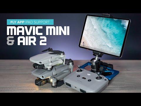 Dji Fly App Updated With Ipad Support Mavic Mini Air 2 Youtube