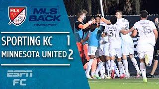 Sporting KC 1-2 Minnesota United: WILD finish in Orlando as Loons stun SKC | MLS Highlights