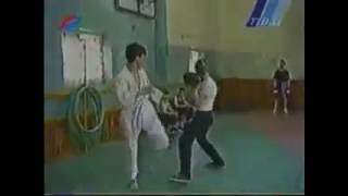 Ussr  Boxing vs Karate sparing